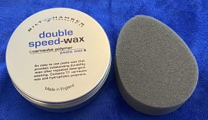 Wax met applicatorpad en microvezeldoek